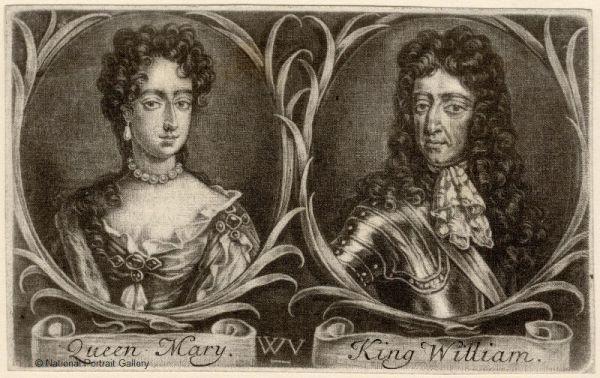 Queen-Mary-II-King-William-III