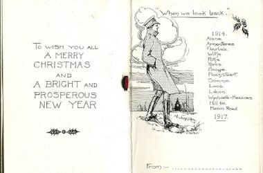 Christmas Cards and the Fusiliers